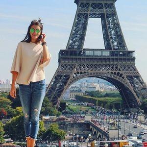 Zara Cropped Denim Jeans